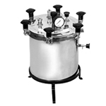 portable autoclave stainless steel aluminium manufacturer supplier india